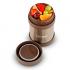 Термос для еды LaPlaya Food Container (0,35 литра), коричневый пригодится для туризма, рыбалки, охоты и повседневного использования, фото  (3)