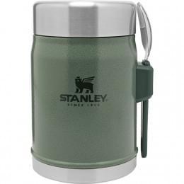 Термос для еды Stanley Classic  0.4 л, зеленый
