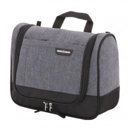 Несессер Swissgear Toiletry Kit, серый, 27x11x20 см