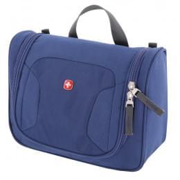 Несессер Swissgear, синий, 27х11х22 см