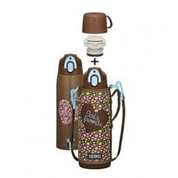 Термос детский FFR-1004 WF (1 литр), коричневый