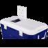 Изотермический контейнер (термобокс) Арктика (40 л.), синий пригодится для туризма, рыбалки, охоты и повседневного использования, фото  (1)
