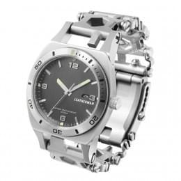 Часы Leatherman TREAD TEMPO (широкие), серебристые
