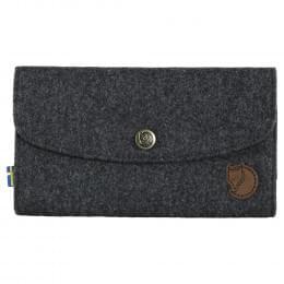 Кошелек Fjallraven Norrvage Travel Wallet, серый, 19х2х11 см