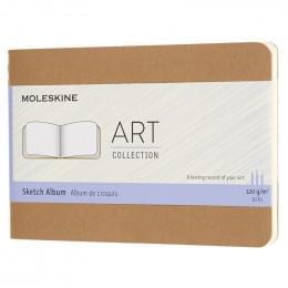 Блокнот для рисования Moleskine Art Cahier Sketch Album Pocket, 88 стр., бежевы