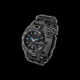 Часы Leatherman TREAD TEMPO LT (узкие), черные