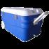 Изотермический контейнер (термобокс) Арктика (80 л.), синий пригодится для туризма, рыбалки, охоты и повседневного использования, фото  (1)