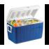 Изотермический контейнер (термобокс) Coleman 48 QT Poly-Lite (45 л.), синий пригодится для туризма, рыбалки, охоты и повседневного использования, фото  (1)