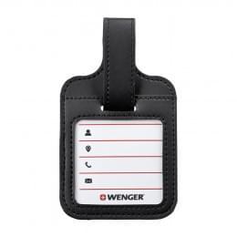 Бирка для багажа Wenger, черная, 9x14x1 см