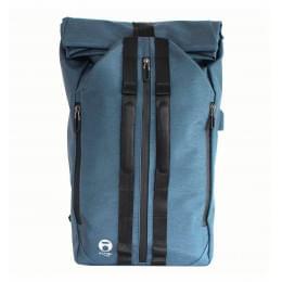 Рюкзак Vargu foldo-x, бирюзовый, 27х49х12 см, 15 л