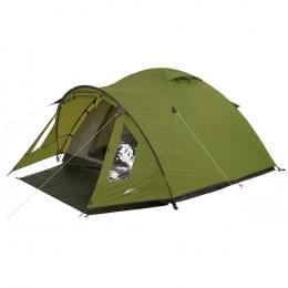 Палатка Trek Planet Bergamo 2, зеленая, 305х160х125 см