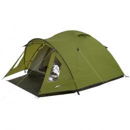 Палатка Trek Planet Bergamo 3, зеленая, 310х200х135 см