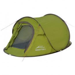 Палатка Trek Planet Moment Plus 2, зеленая, 245х145х95 см