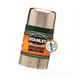 Термос Stanley Classic Vacuum Food 0.5L зеленый