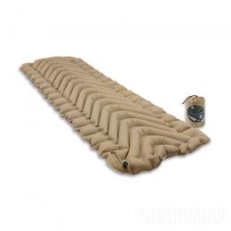 Всесезонный коврик Klymit Insulated Static V Recon, песочный