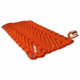 Всесезонный коврик Klymit Insulated Double V, оранжевый
