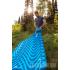 Надувной коврик Klymit Static V Double Blue, синий пригодится для туризма, рыбалки, охоты и повседневного использования, фото  (2)