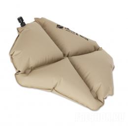 Надувная подушка Klymit Pillow X Recon, песочная