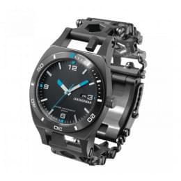 Часы Leatherman TREAD TEMPO (широкие), черные