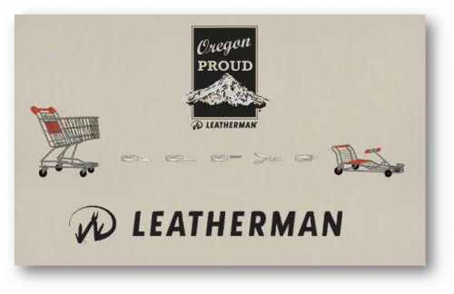 Leatherman promo marketing