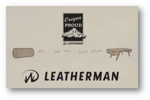 Leatherman oregon promo